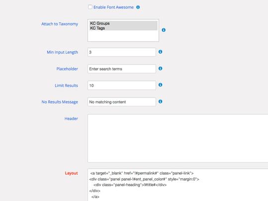 Design powerful autocomplete views using WordPress WP App Studio